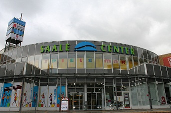 Saale Center in Halle